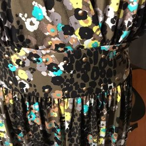 Beverly Drive Dresses - Floral summer dress with crossover bodice